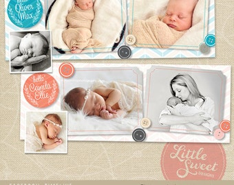 Facebook Timeline Cover - Photoshop Template for photographers (FB9) - INSTANT DOWNLOAD