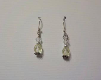 Swarovski Crystal and Czech Glass Bead Earrings