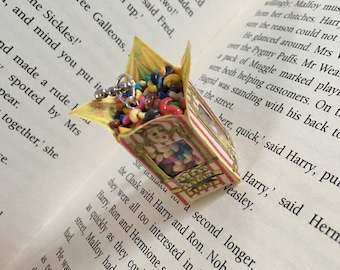 Harry Potter mini bertie botts beans keyring
