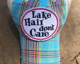 Lake Hair Dont Care Hat