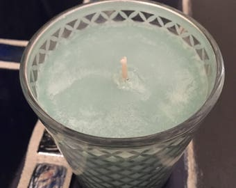 Minty Green - Soy Container Candle