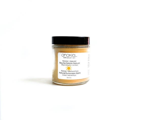 Natural Sunblock Coconut Oil