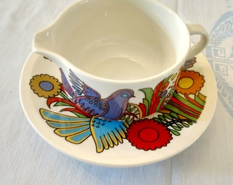 Creamer Cup 2 Villeroy and Boch Acapulco saucers