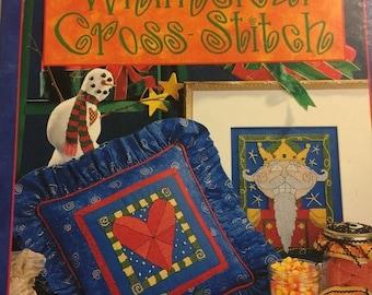 APRILSALE Patrick Lose's Whimsical Cross-Stitch vintage pattern book
