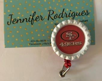 San Francisco 49ers badge reel