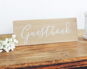 Guestbook Wooden Sign, Wedding Sign, Rustic Decor. Boho Wedding. Reception Decor