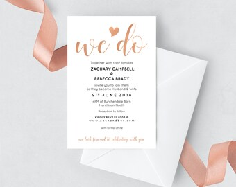 Editable wedding invitation template download Editable