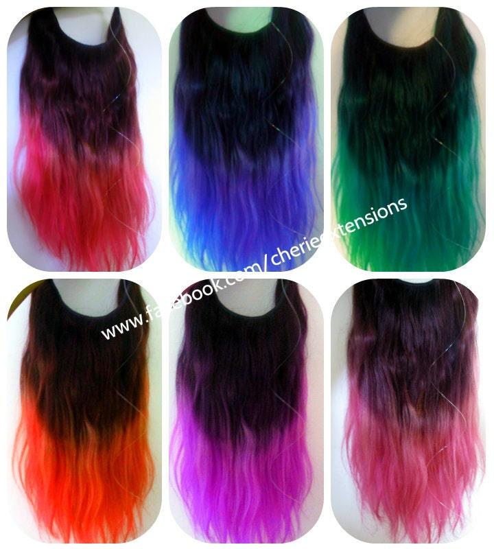 Balayage Dip Dye 8a Remy Dip Dye Ombre Balayage Human