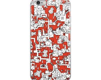 Isometric City #01 - iPhone Case