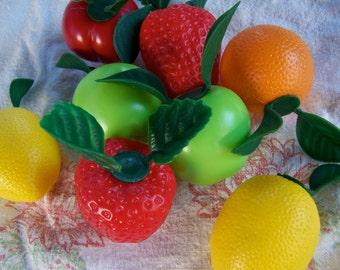 fun and fruity plastic fruit