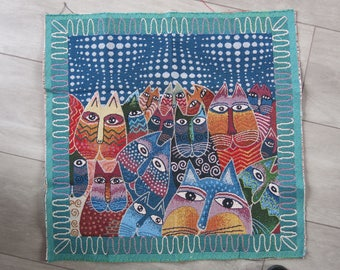 Tapestry style Panel cats