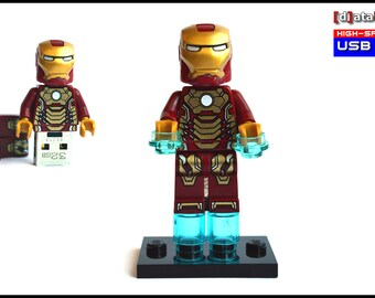 32GB USB Stick in a original complete Lego® Figure Superhero