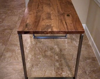 Charmant Walnut Table Top   Solid Black Walnut // Pub, Coffee, Kitchen, Island,  Conference, Dining, Breakfast (No Base)
