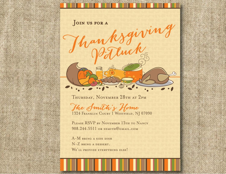 Thanksgiving potluck invitation zoom stopboris Choice Image