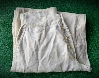 Vintage Sailor Navy Deck Pants Great for Steampunk attire Explored Tinker