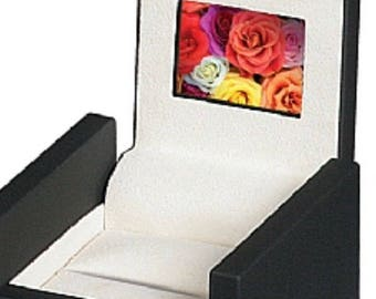 "Ring Box with 2"" High-definition Screen HD LCD Video Engagement Wedding Anniversary Valentine Birthday"