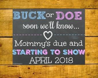 Pregnancy Announcement, Baby Announcement, Baby Reveal, Pregnancy Reveal, Baby Reveal Sign, Chalkboard Pregnancy, Pregnancy Sign