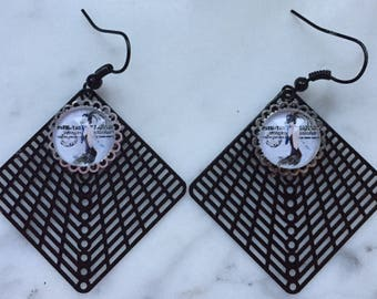 "Earrings ""la Parisienne"""