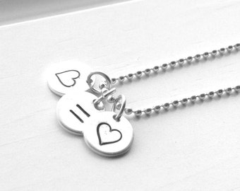 Love Means Love Necklace, Marriage Equality Necklace, LGBT Necklace, LGBTQ Jewelry, Gay Pride Charm Necklace, Sterling Silver Jewelry