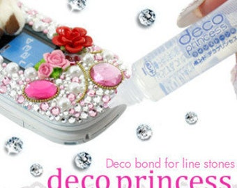 Craft Glue - Deco Princess Glue 17ml for Crystals, Charms & Cabochons