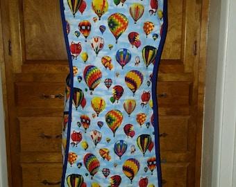 Hot Air balloons apron cross back