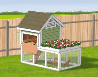 Chicken Coop Plans - Eggshire Farm