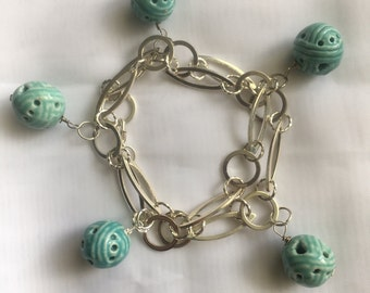 Two in one piece, bracelets or necklace