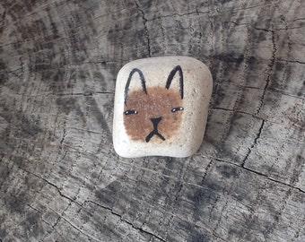 Beach Pottery Cat - Totem, Animal Medicine, Spirit Animal, Healing