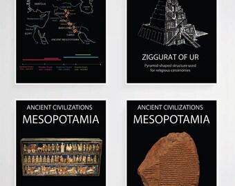 Printable Ancient Mesopotamia Poster