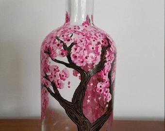 Cherry Blossom Wine bottle