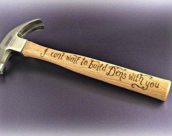 Personalised Hammers, Fathers Day Gifts, Gift from Child, Engraved Hammer, Custom Hammers, Gifts for Husband, Gift for Daddy, Kids Den