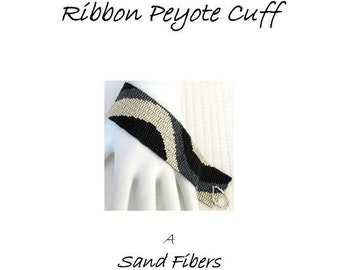 3 for 2 Program - Achromatic Color Ribbon Cuff - For Personal Use Only PDF Pattern File