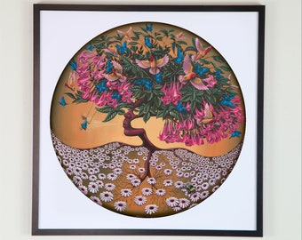 Tree of Life (mother nature) - Giclee print -Unframed- signed- limited edition of 150