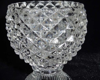 Avon Crystal Candle Holder Home and Garden Decor Candle Holders