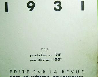 Vintage art photography - Soupault - Photo 1931 - Edite Par La Revue  Antiquarian book - Charles Peignot