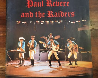 Paul Revere and the Raiders Concert Program