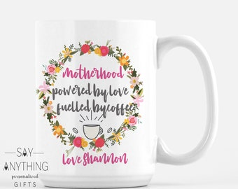 Personalized Gift-Customized Gift–Mother Gift-Mom Gift–Mother's Day Gift–Gift For Mom-Gift For Wife-Gift For Her-Mug - Motherhood coffee
