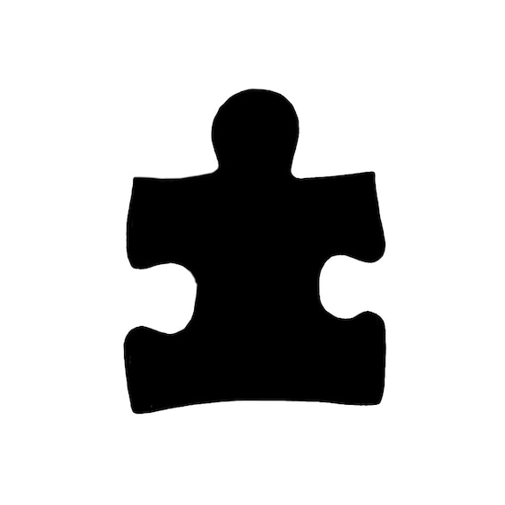 Puzzle Piece Autism Symbol Autism Support Symbol Two Style