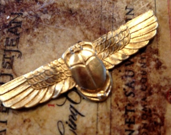 Winged Scarab Band (2 pc)