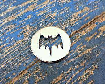 "Aluminum 1 1/4"" Bat Washer Stamping Blanks - 14G Aluminum"