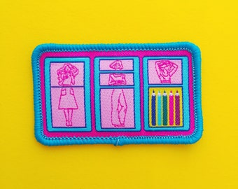 Fashion Plates Patch