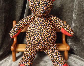 Candy Corn snuggle bear