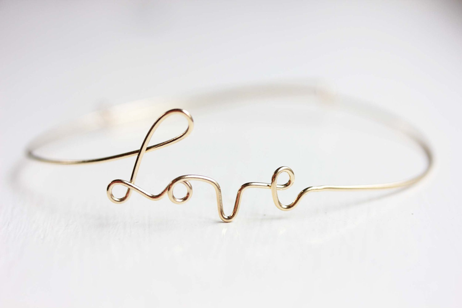present plated ladies love silver girl gold knot bracelet jewelry bangles simple product rose bamboo cuff fashion birthday beautiful