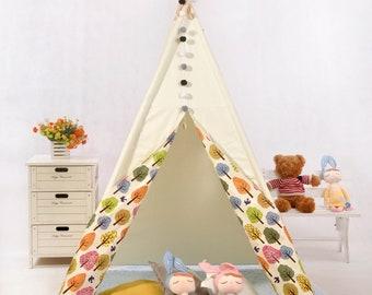 teepee,kids teepee,play teepee tent,tipi tent,tepee tent,childrens Tee Pee