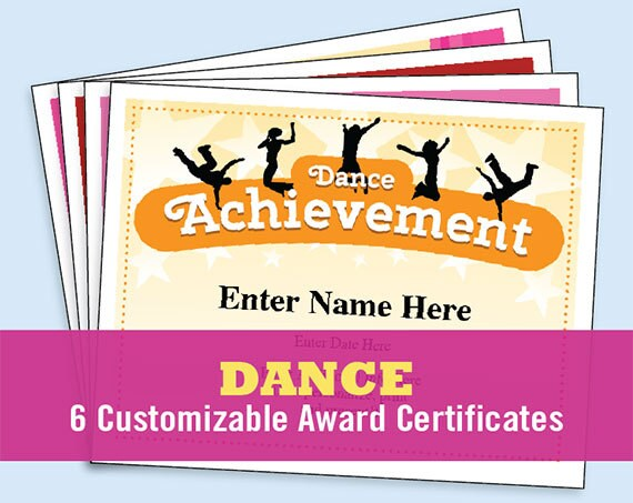 Greatest coach certificates printouts free worksheet coloring pages dance certificate pack dancing awards dance team printables free printable blank gift certificate template yelopaper Choice Image