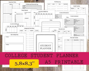 planners for college students 2018 akba greenw co