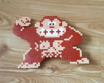 Donkey Kong Christmas Tree Topper Beads
