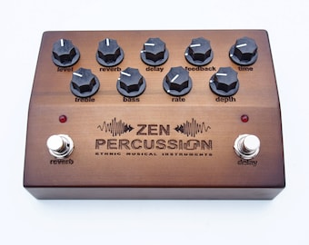 Preamp/effect pedal for acoustic instruments