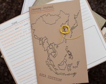 The Journey Journal-Asia Edition