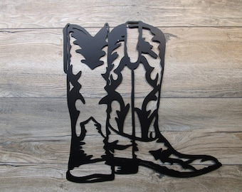 Cowboy Boots Wall Art